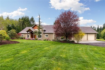 Poulsbo Single Family Home Pending Inspection: 2287 Sawdust Hill Rd NE