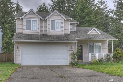 Olympia Single Family Home For Sale: 1615 15th Ave SW