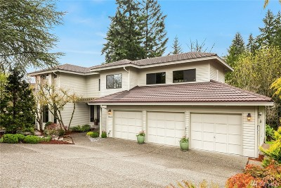 Bellevue Single Family Home For Sale: 17449 SE 47th St
