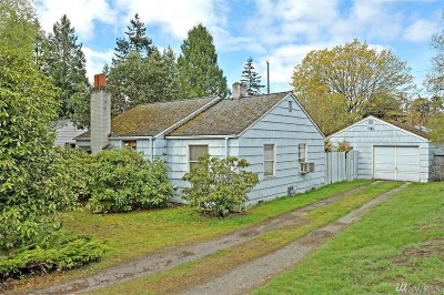 Shoreline Single Family Home For Sale: 15569 6th Ave NE