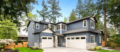 Mercer Island WA Single Family Home For Sale: $2,598,000