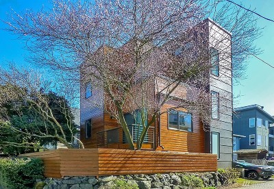 Seattle Single Family Home For Sale: 1615 E Columbia St