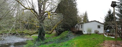 Lewis County Single Family Home Pending Inspection: 825 Winlock Vader Rd
