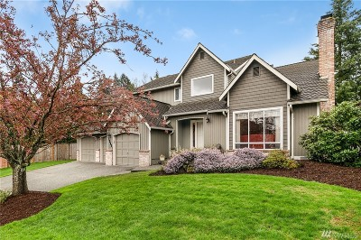 Woodinville Single Family Home For Sale: 12521 NE 163rd St