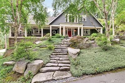 Mercer Island Single Family Home For Sale: 6651 E Mercer Wy