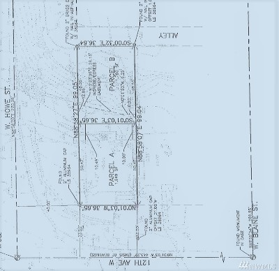 Seattle Residential Lots & Land For Sale: 1113 W Howe St #B