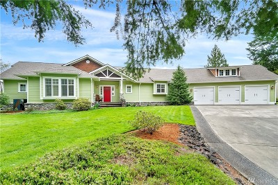 Centralia Single Family Home For Sale: 318 River Heights Rd