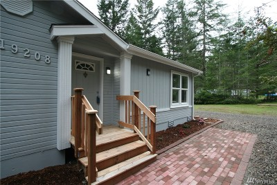 Gig Harbor Single Family Home For Sale: 19208 140th St NW