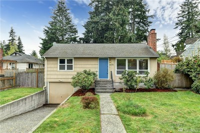 Shoreline Single Family Home For Sale: 16170 Midvale Ave N