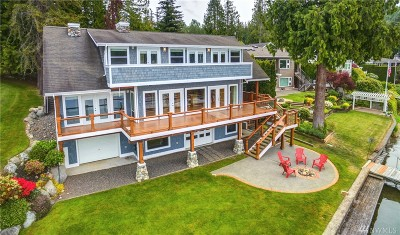 Bellingham Single Family Home For Sale: 23 Strawberry Point Rd