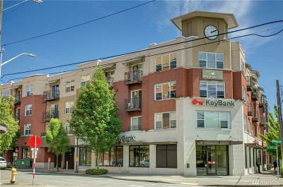 Seattle Condo/Townhouse For Sale: 413 70th St #312