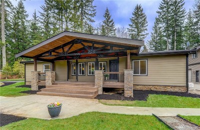 Snohomish Single Family Home For Sale: 18517 48th St NE
