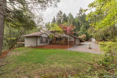 Pierce County Single Family Home For Sale: 9615 72nd Ave NW