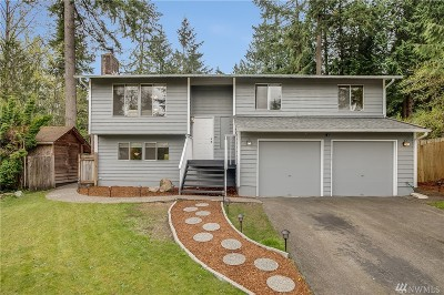 Woodinville Single Family Home For Sale: 17621 NE 160th St