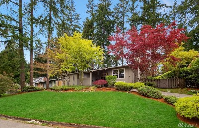 Bellevue Single Family Home For Sale: 2511 166th Ave SE