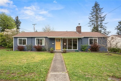 Olympia Single Family Home For Sale: 1324 9th Ave SW