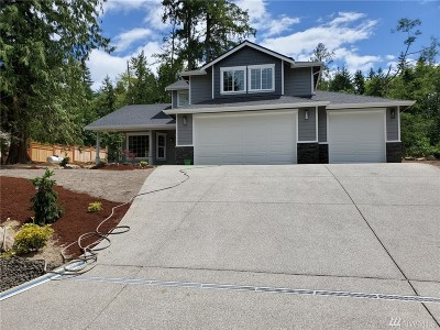 Gig Harbor Single Family Home For Sale: 14503 Talmo Dr NW