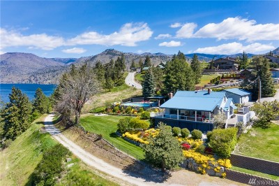 Chelan County Single Family Home For Sale: 220 Pine Crest Place