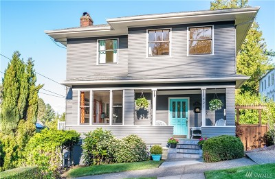 Tacoma Single Family Home For Sale: 627 N Carr St