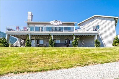 Chelan County Single Family Home For Sale: 318 Upper Point