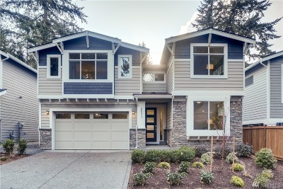 Shoreline Single Family Home For Sale: 20311 8th Ave NW #2