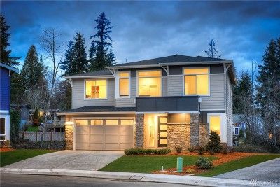 Shoreline Single Family Home Contingent: 20317 8th Ave NW #5