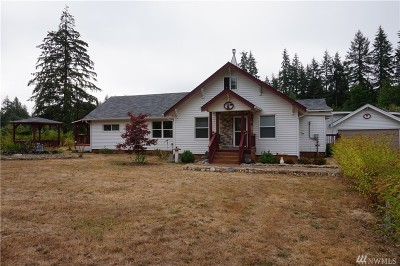 Single Family Home For Sale: 802 Elma McCleary Rd