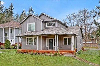 Lakewood Single Family Home For Sale: 8327 Washington Blvd SW