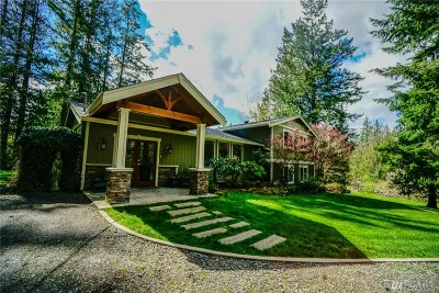 Yelm Single Family Home Pending Inspection: 18113 Fennel Rd SE