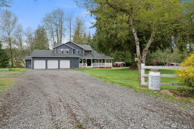 Snohomish Single Family Home For Sale: 4729 Storm Lake Rd