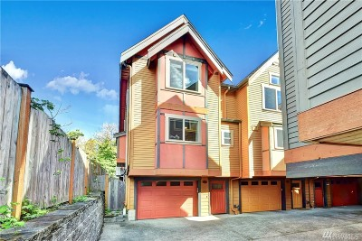Seattle Single Family Home For Sale: 2318 N 113th Place #A
