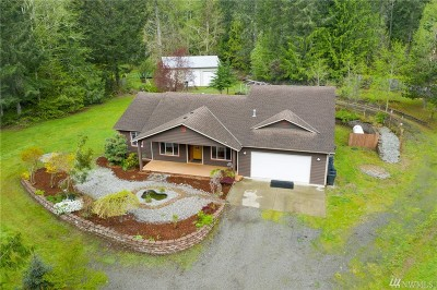 Port Orchard Single Family Home For Sale: 13838 Madrona Rd SW