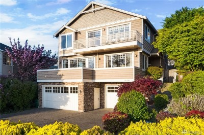 Seattle Single Family Home For Sale: 10116 Marine View Dr SW