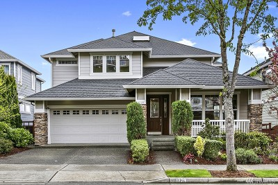 Issaquah Single Family Home For Sale: 1729 28th NE