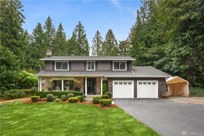 Sammamish Single Family Home For Sale: 2126 207th Ave SE