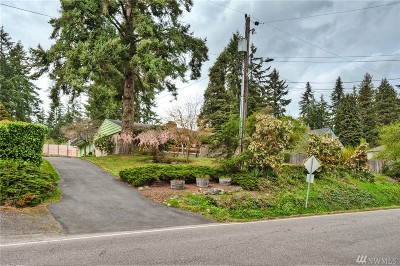 Shoreline Single Family Home For Sale: 19027 Firlands Wy N