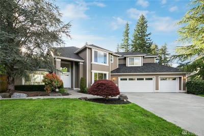 Sammamish Single Family Home For Sale: 4725 229th Place SE