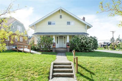Tacoma Multi Family Home For Sale: 1202 S Grant Ave