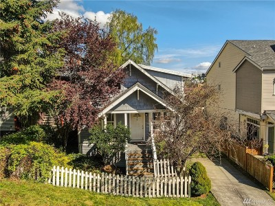 Seattle Single Family Home For Sale: 1554 S Atlantic St