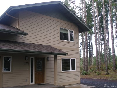 Mason County Rental For Rent: 2771 E Phillips Lake Loop Rd