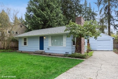 Seattle Single Family Home For Sale: 1019 NE 127th St