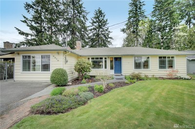 Bothell Single Family Home For Sale: 8812 NE 189th Place