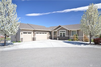 Chelan County Single Family Home For Sale: 1415 Gabriella Lane