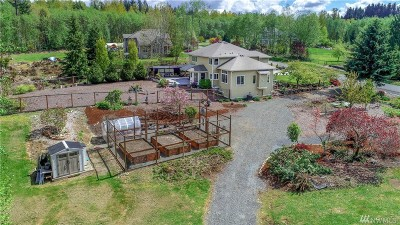Snohomish Single Family Home For Sale: 17515 56th St NE