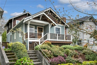 Seattle Single Family Home For Sale: 342 N 76th St