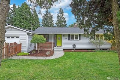 Shoreline Single Family Home For Sale: 16310 Densmore Ave N