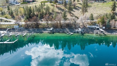 Chelan, Chelan Falls, Entiat, Manson, Brewster, Bridgeport, Orondo Residential Lots & Land For Sale: 4020 S Lakeshore Rd