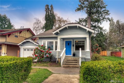 Olympia Single Family Home For Sale: 515 Governor Stevens Ave SE