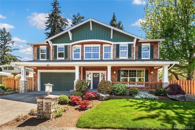 Mercer Island Single Family Home For Sale: 8253 SE 36th St