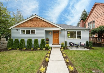 Seattle Single Family Home For Sale: 11519 Palatine Ave N